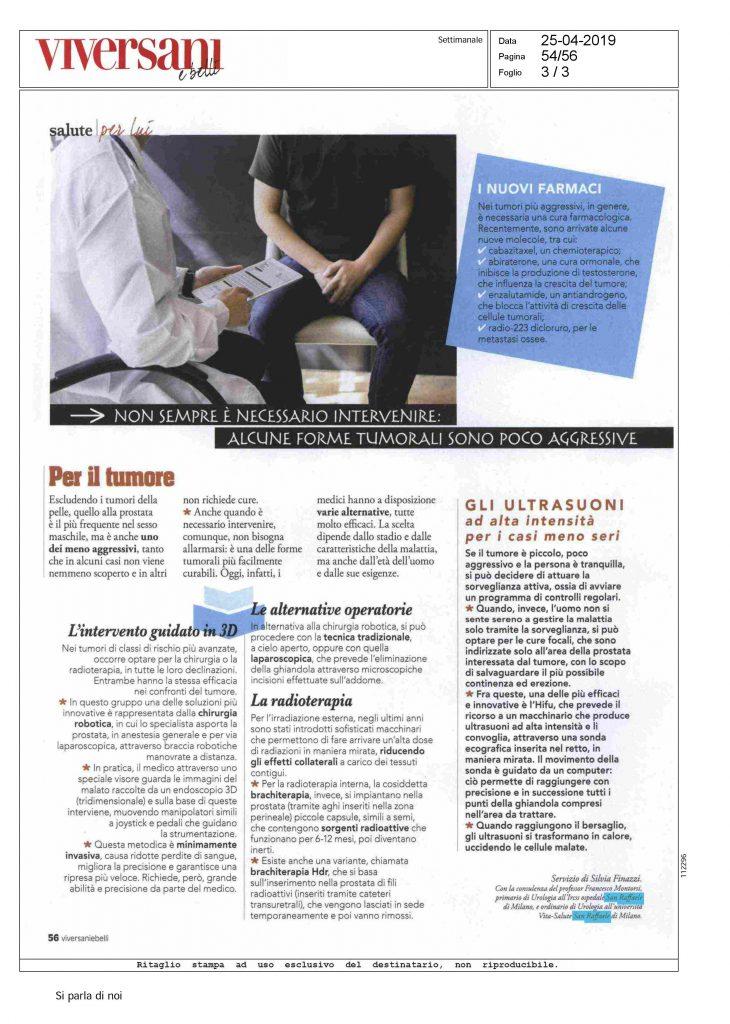 orotocollo esami preoperatori x carcinoma prostata